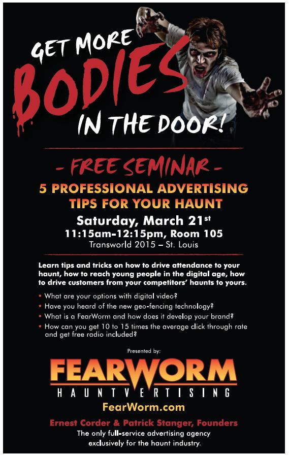 Fearworm Seminar 3-21